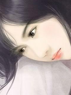 hinh girl trong tranh